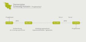 Demenzplan Schleswig-Holstein  | Projektverlauf
